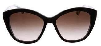 Dolce & Gabbana Tortoiseshell Gradient Sunglasses
