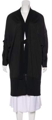 Marina Rinaldi Wool Medium-Weight Cardigan