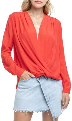 ASTR the Label Surplice Top