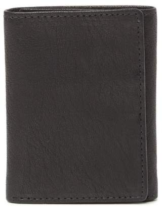English Laundry Shrunken Leather Trifold Wallet