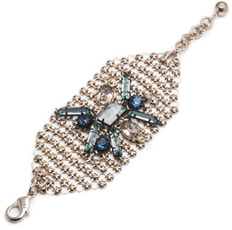 Lulu Frost Cité Wide Link Cuff Bracelet $275 thestylecure.com
