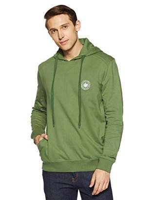 Something for Everyone Men's Basic 100% Cotton Terry Fleece Hoodie