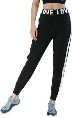 Fitibest Women's Sports Fitniss Jogger Basic Training Pants (, M)