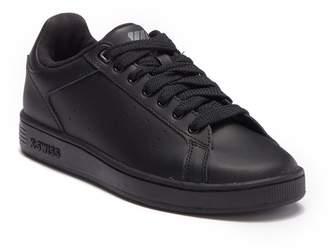 K-Swiss K Swiss Clean Court Leather Sneaker (Big Kid)