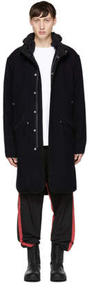 Tim Coppens Navy Wool Parka