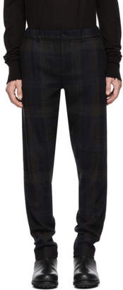 Stephan Schneider Brown and Blue Fringe Trousers