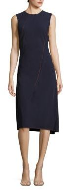 DKNY Sleeveless Asymmetrical Dress