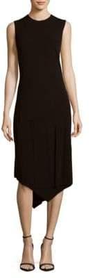 DKNY Asymmetrical Layered Dress