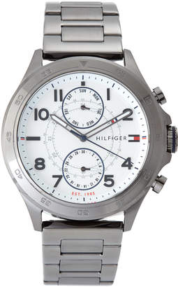 Tommy Hilfiger 1791341 Gunmetal & White Watch