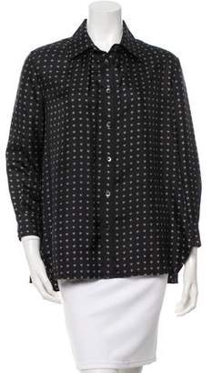 Thakoon Printed Silk Top