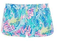 Lilly Pulitzer Little Girl's & Girl's Ceclie Cotton Shorts