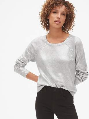 Gap Metallic Pullover Sweater