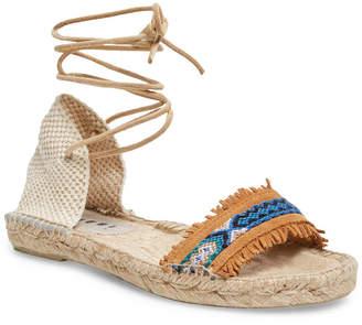 Manebi Leather Espadrille Sandal