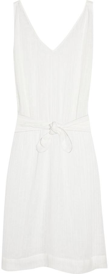 Bronzette Salma cotton-gauze dress