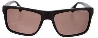 Prada Matte Square Sunglasses