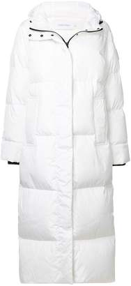 Calvin Klein zipped padded coat