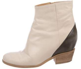 MM6 MAISON MARGIELA MM6 Maison Martin Margiela Leather Ankle Boots