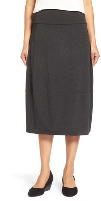 Eileen Fisher Stretch Jersey Lantern Skirt $178 thestylecure.com