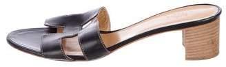 Hermes Oasis Leather Sandals