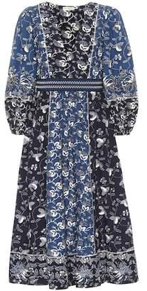 Ulla Johnson Iona printed cotton-blend dress