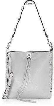 Rebecca Minkoff Women's Small Darren Pebbled Leather Feed Bag
