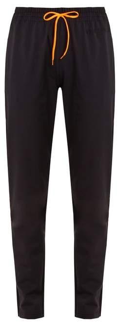 Tapered-leg performance track pants