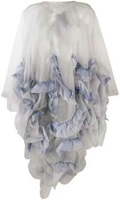 Roberts Wood frilled midi dress