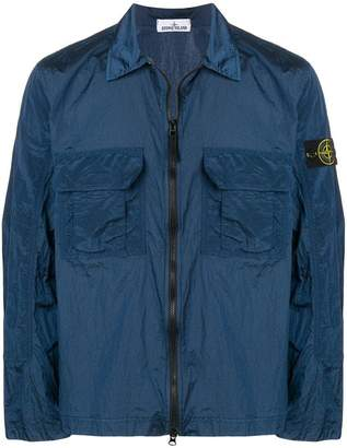 Stone Island shell shirt jacket