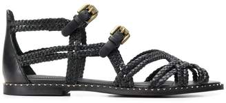 See by Chloe woven strappy sandals