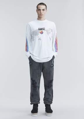 Alexander Wang AWG LONG SLEEVE SHIRT Long Sleeve t Shirt