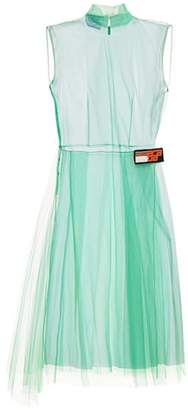 Prada Sheer tulle dress
