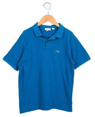 Lacoste Boys' Short Sleeve Polo Shirt