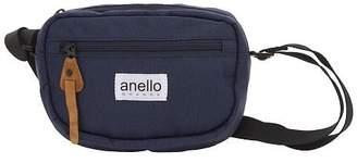 Anello (アネロ) - BACKYARD anello GRANDE 軽量撥水 SC 杢調ポリ ミニショルダー GU-A0821