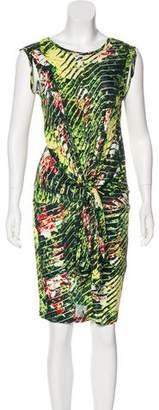 Kenzo Floral Print Knee-Length Dress