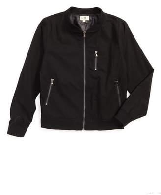 Z.A.K. Brand Zip-Up Bomber Jacket