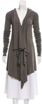 Rick Owens Lilies Knit High-Low Top