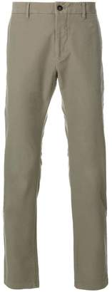 Closed straight leg chinos