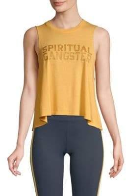 Spiritual Gangster Crop Tank Top