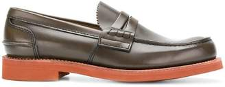 Church's contrast heel loafers