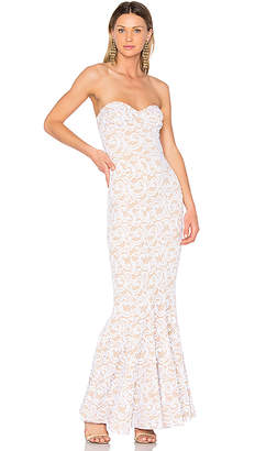 Norma Kamali Corset Gown in White $690 thestylecure.com