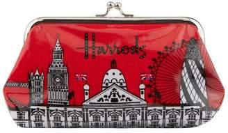 Harrods Bold London Clip Purse