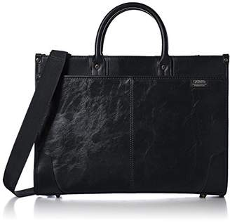 Gatsby [ギャッツビー] ビジネスバッグ A4対応 合成皮革 GB337 BK ブラック