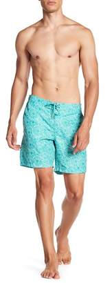 BEACH BROS Floral Print Boardshorts