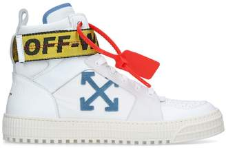 Off-White Off White Industrial Belt High-Top Sneakers