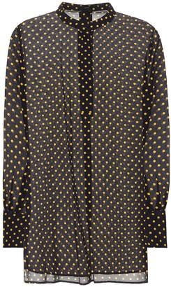 Joseph Marla polka-dot silk blouse