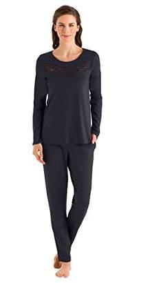 Hanro Women's Liv Long Sleeve Pajama Set