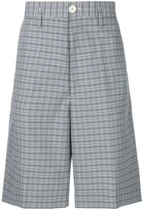 Marni checked shorts
