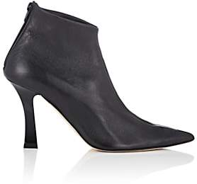 Helmut Lang Women's Leather Glove Ankle Boots-Black