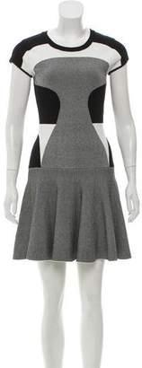 Diane von Furstenberg Patterned Mini Dress