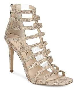 Fergie Regal Stiletto Heel Strappy Sandals
